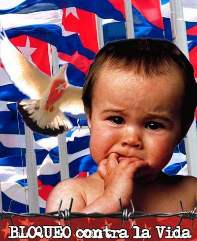El bloqueo de EE.UU. contra Cuba es un acto genocida, un acto de cobardía y contraproducente